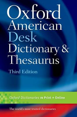 Oxford American Desk Dictionary & Thesaurus (Hardback)