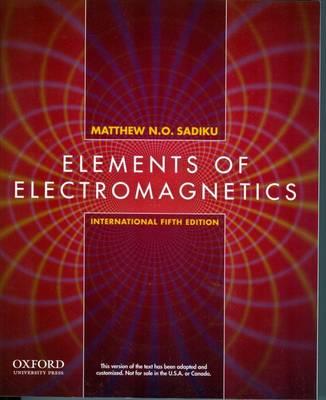 Elements of Electromagnetics (Paperback)