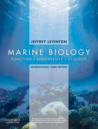 Marine Biology: International Edition: Function, Biodiversity, Ecology (Paperback)