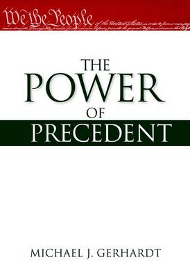 The Power of Precedent (Paperback)