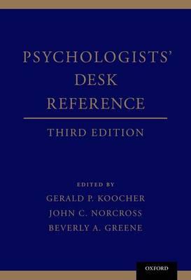 Psychologists' Desk Reference (Hardback)