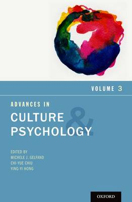 Advances in Culture and Psychology: Volume 3 - Advances in Culture and Psychology (Hardback)