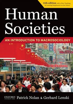Human Societies: An Introduction to Macrosociology (Paperback)