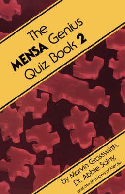 The Mensa Genius Quiz Book 2 (Paperback)