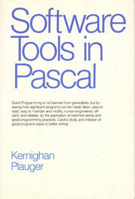 Software Tools in Pascal (Hardback)