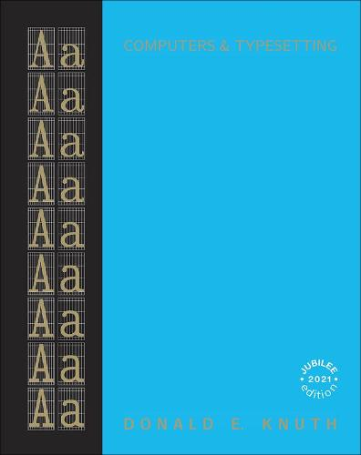 A Computers & Typesetting, Volume: The TeXbook (Hardback)
