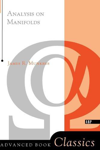 Analysis On Manifolds (Paperback)