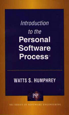 Introduction to the Personal Software Process(sm) (Paperback)