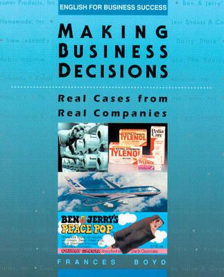 Making Business Decisions (Hardback)