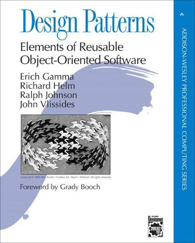 Design Patterns: Elements of Reusable Object-Oriented Software - Addison-Wesley Professional Computing Series (Hardback)