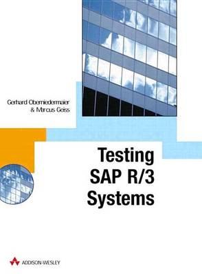 SAP R/3 Testing with CATT (Paperback)