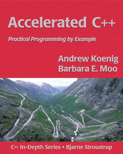 Accelerated C++: Practical Programming by Example (Paperback)