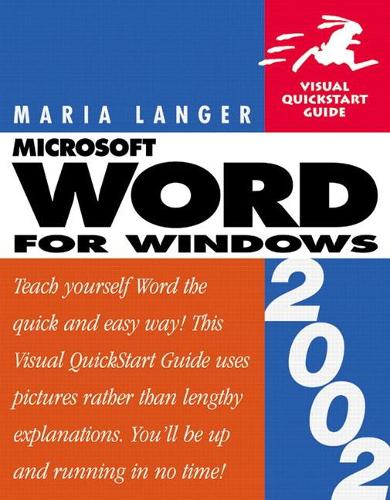 Word 2002 for Windows: Visual QuickStart Guide (Paperback)