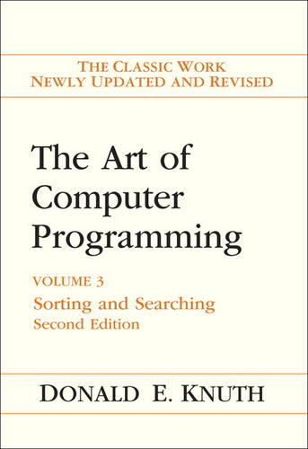Art of Computer Programming, The: Volume 3: Sorting and Searching (Hardback)