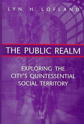 The Public Realm: Exploring the City's Quintessential Social Territory (Hardback)