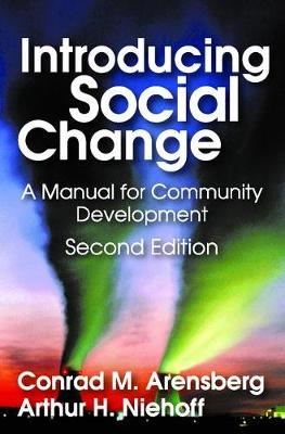 Introducing Social Change: A Manual for Community Development (Paperback)