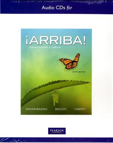 Audio CD's for !Arriba!: Comunicacion y cultura (CD-ROM)