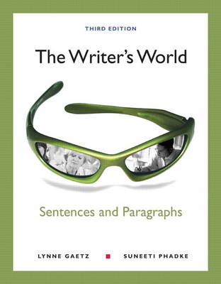 The Writer's World: Sentences and Paragraphs Plus MyWritingLab with Etext -- Access Card Package