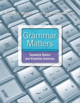 Grammar Matters (Paperback)