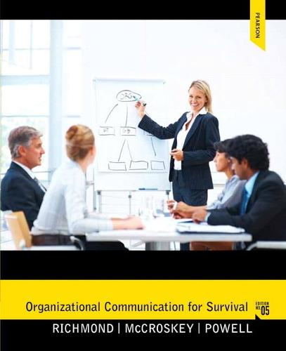 Organizational Communication for Survival: United States Edition (Paperback)