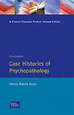 Case Histories of Psychopathology (Paperback)