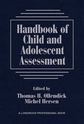 Handbook of Child and Adolescent Assessment (Paperback)