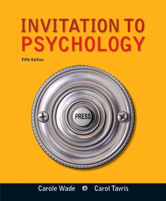 Invitation to Psychology Plus MyPsychLab with eText -- Access Card Package