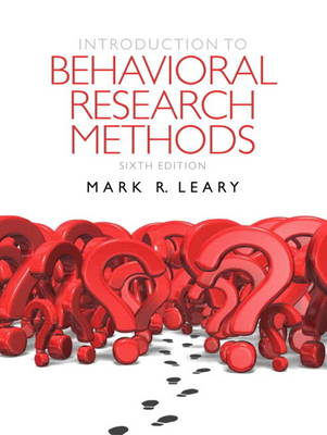 Introduction to Behavioral Research Methods Plus MySearchLab with Etext -- Access Card Package