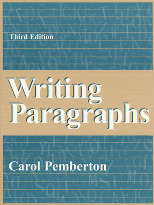 Writing Paragraphs (Paperback)
