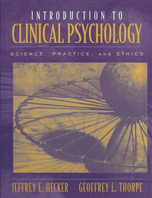 Introduction to Clinical Psychology (Hardback)