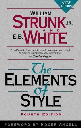 Elements of Style, The (Hardback)
