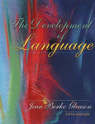 The Development of Language (Hardback)