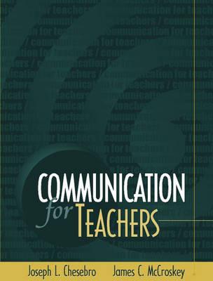 Communication for Teachers (Paperback)