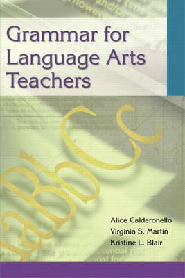 Grammar for Language Arts Teachers (Paperback)