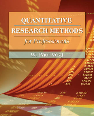 Quantitative Research Methods for Professionals in Education and Other Fields (Paperback)