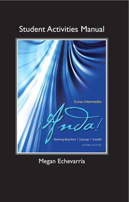 Student Activities Manual for !Anda! Curso intermedio (Paperback)
