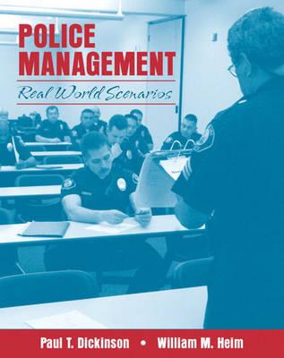 Police Management: Real World Scenarios (Paperback)