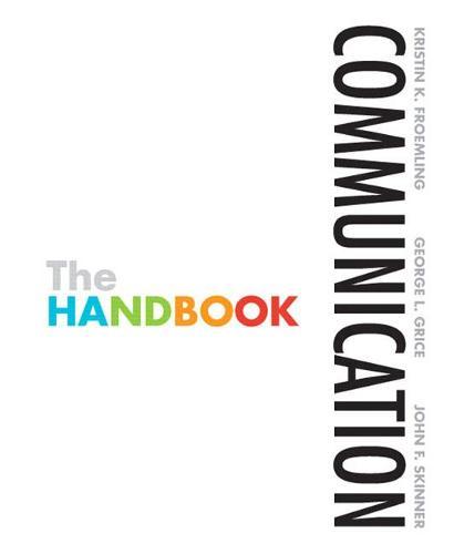 Communication: The Handbook (Paperback)
