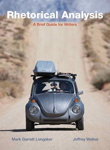 Rhetorical Analysis: A Brief Guide for Writers (Paperback)