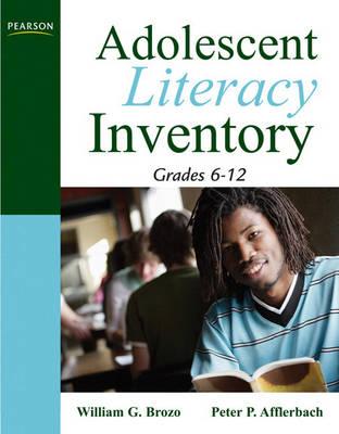 Adolescent Literacy Inventory, Grades 6-12 (Paperback)