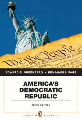 America's Democratic Republic (Paperback)