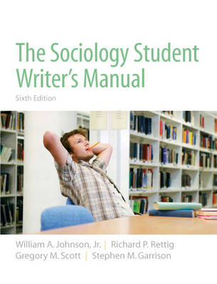 The Sociology Student Writer's Manual (Paperback)