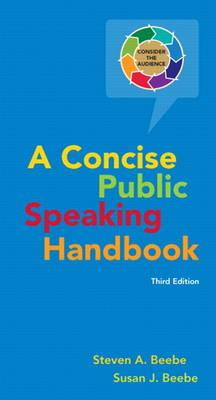 Concise Public Speaking Handbook (Spiral bound)
