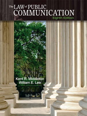 The Law of Public Communication (Paperback)