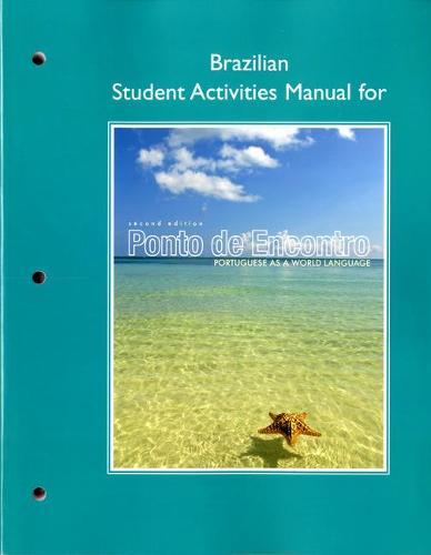 Brazilian Student Activities Manual for Ponto de Encontro: Portuguese as a World Language (Paperback)