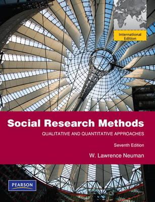 Social Research Methods: Qualitative and Quantitative Approaches (Paperback)