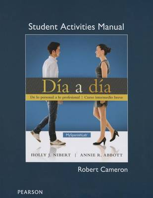 Student Activities Manual for Dia a dia (Paperback)