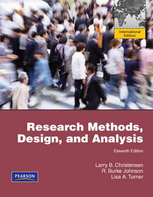 Research Methods, Design, and Analysis (Paperback)