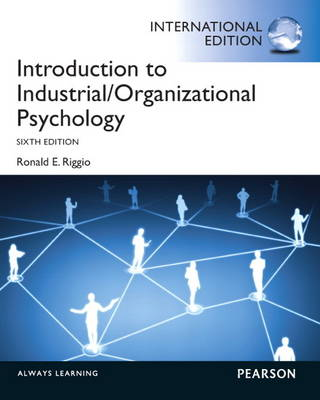 Introduction to Industrial and Organizational Psychology (Paperback)