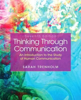 Thinking Through Communication (Paperback)